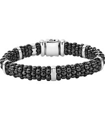 women's lagos black caviar station bracelet