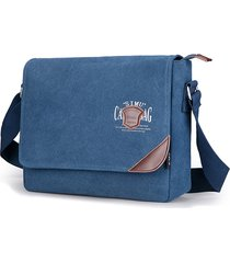 borsa a tracolla per borsa a tracolla casual di grande capienza tela vintage