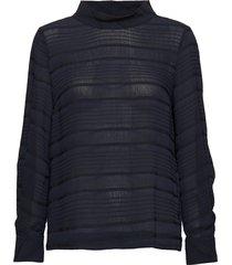 noelle blouse blus långärmad svart inwear