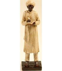 escultura decorativa de resina indiano harish