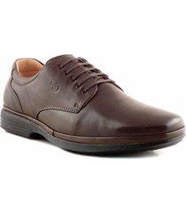 zapato chocolate briganti hombre napoles