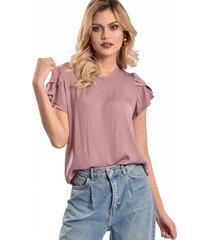 blusa primia lani rosa