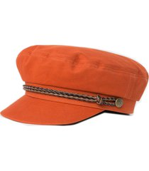 women's brixton ashland fisherman cap - orange