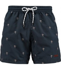 barts zwembroek men jack shorts navy