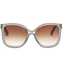 58mm rita soft square sunglasses