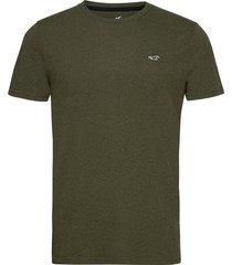 hco. guys knits t-shirts short-sleeved grön hollister