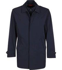 fay blue layered coat