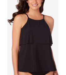 magicsuit julia tiered underwire tankini top women's swimsuit