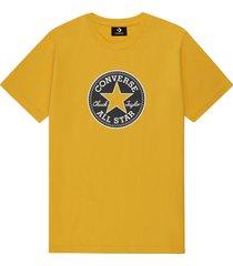 converse camiseta chuck taylor modern yellow