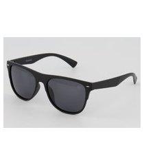 óculos de sol hang loose eyewear uv preto