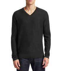 collection stripe wool-blend sweater