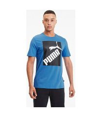 camiseta puma big logo masculina