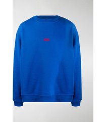 424 logo-embroidered long-sleeved sweatshirt