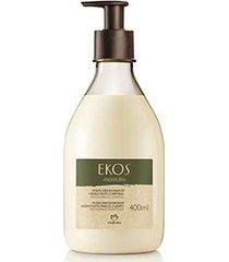 polpa desodorante hidratante corporal andiroba ekos - 400ml