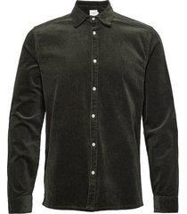 felix hw corduroy shirt overshirts casual groen les deux