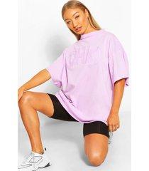 ohio applique oversized t-shirt, lilac