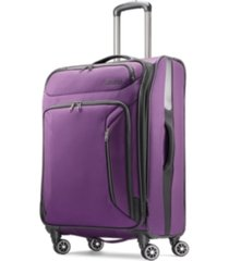 "american tourister zoom 25"" softside spinner suitcase"