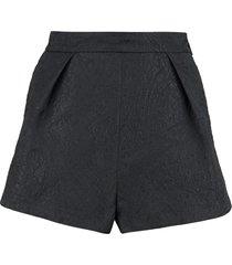 msgm high waist shorts