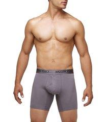 pantaloncillo patprimo boxer medio para hombre gris