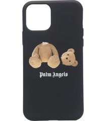 palm angels bear iphone 11 pro case - black