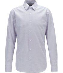 boss men's isko slim-fit cotton shirt