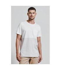 t-shirt super barrado canas masculina