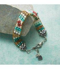 sundance catalog women's beach rose bracelet