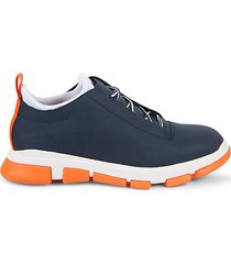 city hiker leather-coated sneakers