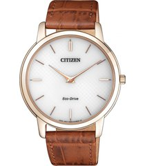 reloj eco-slim dorado citizen