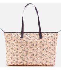 radley women's maple cross - signature quilt large ziptop shoulder bag - blush