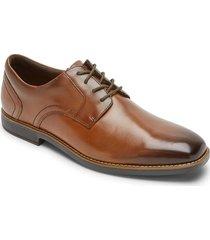 zapatos rockport slayter plaintoe oxford-cafe
