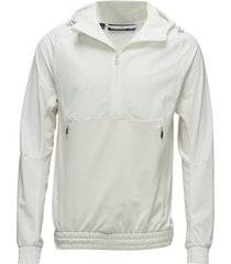 m jeff jacket tech mid hoodie trui wit j. lindeberg