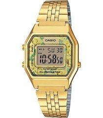reloj casio la680wga_9c dorado acero inoxidable