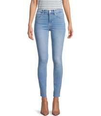 frame women's le high skinny jeans - europa - size 31 (10)