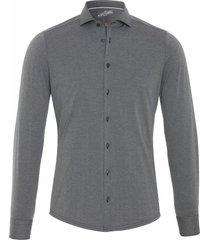 pure heren overhemd polyamide 4 way stretch slim fit