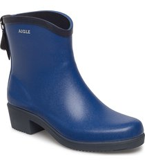 aigle ms juliette bot klein/marin regnstövlar skor blå aigle