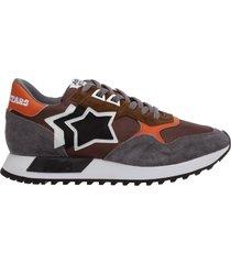 scarpe sneakers uomo camoscio draco