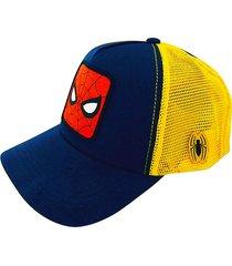 gorra azul chelsea market spider-man licencia oficial