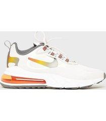 nike sportswear air max 270 react se sneakers white