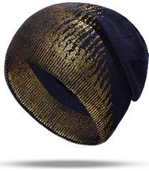cappello lavorato a maglia di lana etnica donna vintage vogue cappello termico con elastico caldo cappello casual