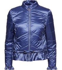 crystal spring jacket fodrad jacka blå cream