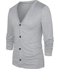 button up long sleeve cardigan