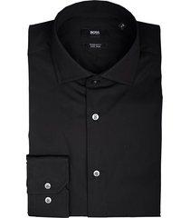 hugo boss overhemd gordon zwart 50421509/001