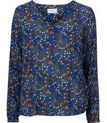blus kaflower amber blouse