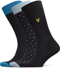blake underwear socks regular socks svart lyle & scott