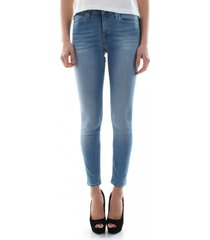 jeans skinny parched azul calvin klein