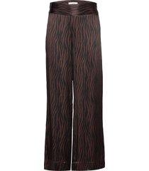 katrina trousers vida byxor brun just female