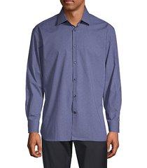 regular-fit check shirt