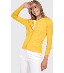 saco amarillo active