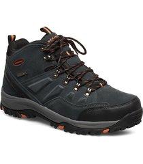 mens relment - pelmo - waterproof shoes boots winter boots svart skechers